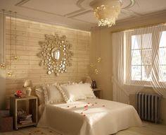 D cor de chambre romantique sur pinterest chambres for Recherche chambre a coucher