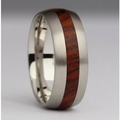 Wide comfortable wood ring-R38 8mm Wood Inlay Rings, Wood Rings, Jewelry Companies, Contemporary Jewellery, Handmade Jewelry, Wedding Rings, Engagement Rings, Wooden Rings, Enagement Rings