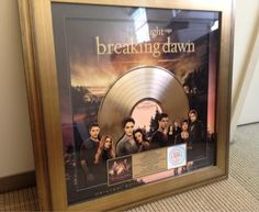The Twilight Saga: Breaking Dawn - Part 1 earns soundtrack Gold.