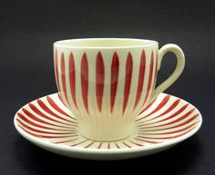 Electronics, Cars, Fashion, Collectibles, Coupons and Cool Mugs, Kitchen Dishes, Teacups, Cup And Saucer, Scandinavian, Red And White, Kitchens, Old Things, China