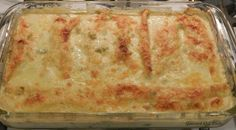 Gourmet Girl Cooks: White Chicken Enchilada Casserole -- Low Carb & Wheat Free #wheatbelly, #glutenfree, #lowcarb