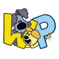 Woezel en Pip letters