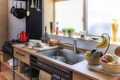 Cucina in stile in stile Industriale di 家具工房一木