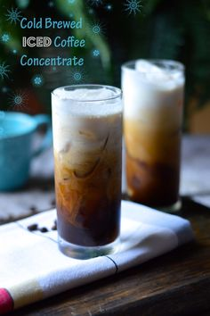 Cold Brewed Iced Coffee Concentrate by My Invisible Crown