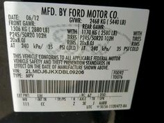 2013 LINCOLN MKX FWD For Sale | TX - DALLAS - Salvage Cars - Copart USA