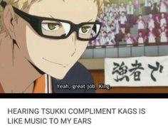 AHAHAHA Tsukki from Haikyuu Season 3 anime sport
