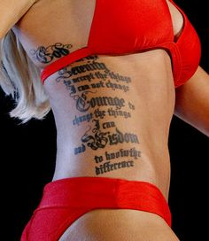 Tattooed Miss Kansas, Theresa Vail