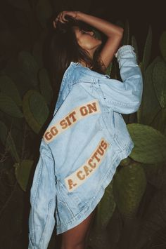 GO SIT ON A CACTUS JACKET by Understated Leather