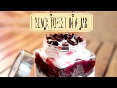 Learn how to make Black Forest in a Jar, a mouth watering dessert recipe with Priyanka. 'Sinfully Sweet' this two words describe our recipe of mouth watering, delightful and heavenly Black Forest i...