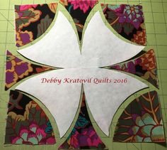 I'm back with some more Winding Ways quilts. But, you may ask, besides buying a set of templates, how did someone think this up in the first...