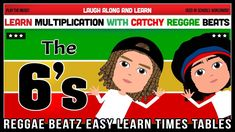 6 Times Table Song (Reggae Beatz) Learn to Fun & Catchy Songs! 6 Times Table, Multiplication, Math, Reggae, Homeschool, How To Memorize Things, Tables, Songs, Teaching Ideas