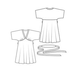 Dress I want to sew next - Kimono Dress #111 Burda Style magazine 03/10