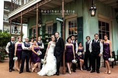 New Orleans style setting inside the Gaylord #Opryland hotel for a #Southern style #wedding. Photo credit: Heater Cherie Photography