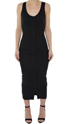 GABY II DRESS- BLACK