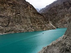 Attabad Lake.The majestic views of the unexplored parts of Pakistan.