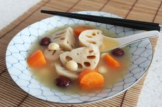 Slow Cooker Lotus Root Soup