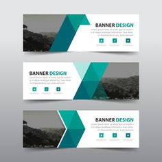 Green triangle abstract corporate business banner template, horizontal advertising business banner layout template flat design set , clean abstract cover header background for website design Poster Design Layout, Footer Design, Header Design, Website Design Layout, Design Logo, Web Layout, Email Design, Ad Design, Graphic Design