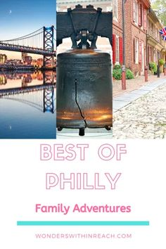 What to do with kids in Philadelphia - All the best stops for kids in Philly! Read more for what to see, do, eat, and avoid in the city of brotherly love. Travel The World For Free, Travel With Kids, Family Travel, Family Adventure, Adventure Travel, Harbor Park, Barnes Foundation, Eastern State Penitentiary, Philadelphia Zoo