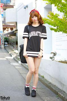 SUPER CUTE !!! ... Nao, 19 years old, college student | 6 July 2014 | #Fashion #Harajuku (原宿) #Shibuya (渋谷) #Tokyo (東京) #Japan (日本)