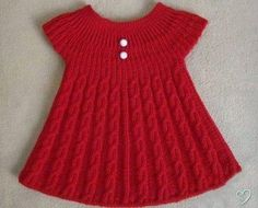 Girls Knitted Dress Knitted Baby Clothes Knit Baby Dress Baby Knitting Patterns Knitting For Kids Crochet For Kids Baby Vest Baby Cardigan Baby Kind Lots of inspiration. Girls Knitted Dress, Knit Baby Dress, Knitted Baby Clothes, Baby Knitting Patterns, Knitting For Kids, Free Knitting, Diy Crochet Sweater, Crochet Baby, Free Crochet