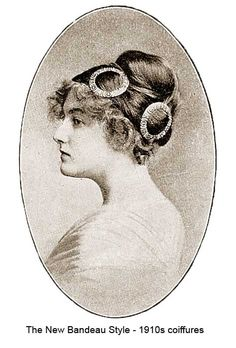 1910-Hairstyles-New-Coiffures-of-the-Summer-Girl -Bandeaux