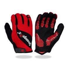 StrongerRx 3.0 WOD Fitness Gloves in Red - Buy now #strongerrx #fitness #crossfitgloves #gloves