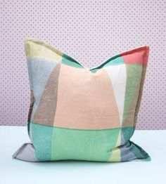 Pony Rider Cushion Patchy   My Tropical Paradise Bird Friend   (Guest at www.fatherrabbit.com)