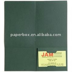 pocket folder with solid color in high glossy or matte $0.02~$0.1