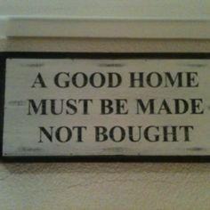 Our kitchen sign