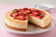 Fitness cheesecake s ovocím