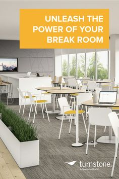Learn how the break room can impact your office culture, and how to make it a space that improves productivity and employee wellbeing.