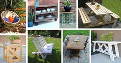 DIY Outdoor Furniture Projects