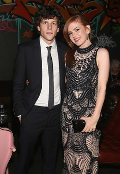 Isla Fisher and Jesse Eisenberg - 'Now You See Me' Afterparty in NYC
