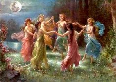 Dance of the Wild Faeries - playlist mit fairy music Fairy Land, Fairy Tales, Fairy Music, Bastet, Sacred Feminine, Wiccan, Witchcraft, Magick, Fantasy Art