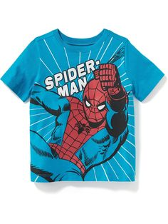 Toddler boy clothes from Old Navy are simply the cutest. Toddler Boy Outfits, Toddler Boys, Kids Boys, Kids Outfits, Junior Girls Clothing, Spiderman, Cute Baby Clothes, Boys T Shirts, Little Boys