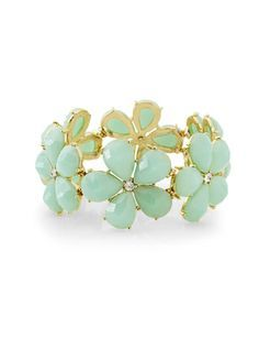 Daisy Gem Stretch Bracelet from THELIMITED.com #TheLimited