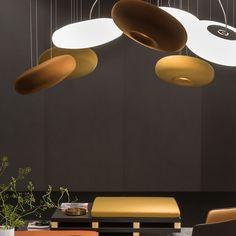 Ceiling Lamp, Ceiling Lights, Sound Absorbing, Lighting Solutions, Lighting Design, Light In The Dark, Light Fixtures, Objects, Sculpture