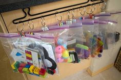 Organise ribbons and other little bits and pieces