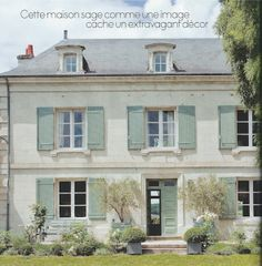 French Country Villa exterior colors, source unknown