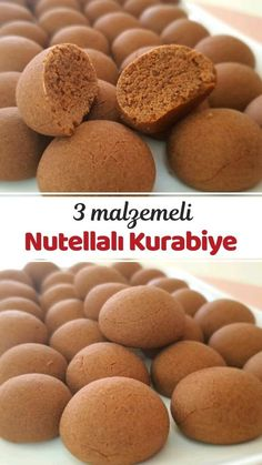 Food N, Food And Drink, Delicious Desserts, Yummy Food, Turkish Recipes, Apple Cider, Cookie Recipes, Food To Make, Biscuits