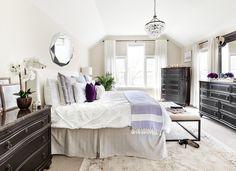 Behind The Design: A Romantic & Zen Master Bedroom | Decorist Blog | see more at: https://www.decorist.com/blog/behind-the-design-a-romantic-zen-master-bedroom/