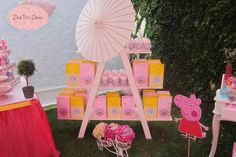 Peppa Pig Party Birthday Party Ideas   Photo 2 of 77   Catch My Party