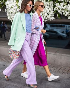 Fashion Trends: Lilac Is The Colour To Get You From Summer To Autumn