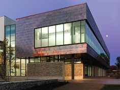 New Balance Recreation Center at University of Maine @GoUMaine, #LEED Silver, Orono, Maine by @CannonDesign