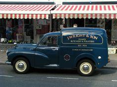 Cute Moggy in Donaghadee Show Trucks, Pickup Trucks, Van Signs, Jaguar Daimler, Tata Motors, Old Commercials, Morris Minor, Sign Writing, Commercial Vehicle
