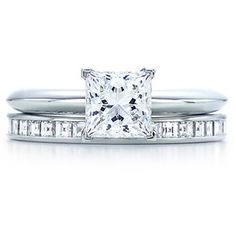 Can't wait to see my engagement ring with my wedding ring :-)