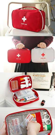 Always be ready when life happens with our helpful Large First Aid Pouch close by! This could a be a lifesaving investment for your and your loved ones. Stay safe out there! Car Buying Tips, First Aid Kit, Vw Bus, Emergency Preparedness, Getting Organized, Car Accessories, Just In Case, Cool Stuff, Stuff To Buy