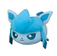 Glaceon Pokemon X Y & Z Laying Down Small Stackable Tsum Tsum Plush