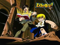 Zatch Bell! The exclamation point is actually a part of the title, and not just me being excited about a great manga/anime title!