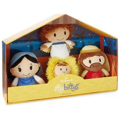 itty bittys® Nativity Set Stuffed Animals - itty bittys® - Hallmark